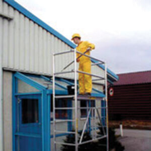 Aluminium foldable scaffolding  JUST Leitern & Gerüste TYPE 45-0