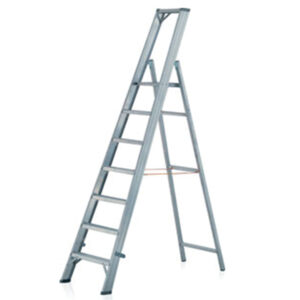 Platform Ladder with treads JUST Leitern & Gerüste TYPE 73