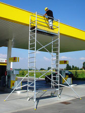 Aluminium mobile tower JUST Leitern & Gerüste TYPE 46
