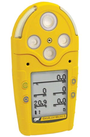 Honeywell BW GasAlertMicro 5 Series Portable Gas Detector