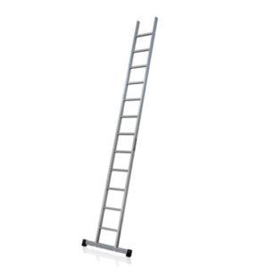 Aluminium Leaning Ladder JUST Leitern & Gerüste TYPE R-100